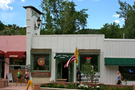 Ancient Mariner Tavern in Manitou Springs, Colorado