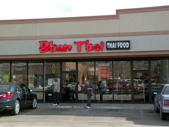 Bhan Thai in Colorado Springs, Colorado