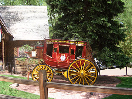 The Stagecoach Inn in Manitou Springs, Colorado