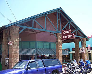 Royal Tavern in Manitou Springs, Colorado
