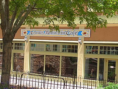 Adams Mountain Café in Manitou Springs, Colorado