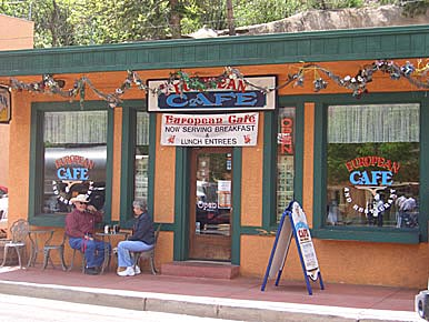 European Coffee & Deli in Manitou Springs, Colorado