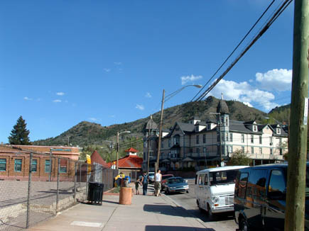 Near downtown Manitou Springs