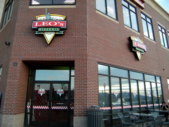 Leo's Pizzeria in Colorado Springs, Colorado