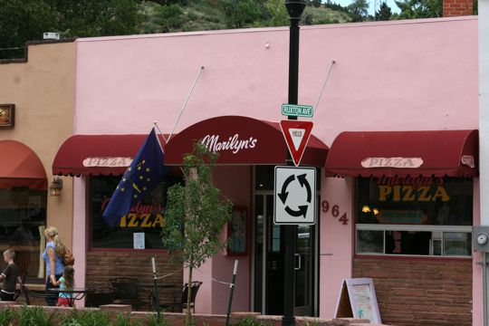 Marilyn's Pizza House in Manitou Springs, Colorado