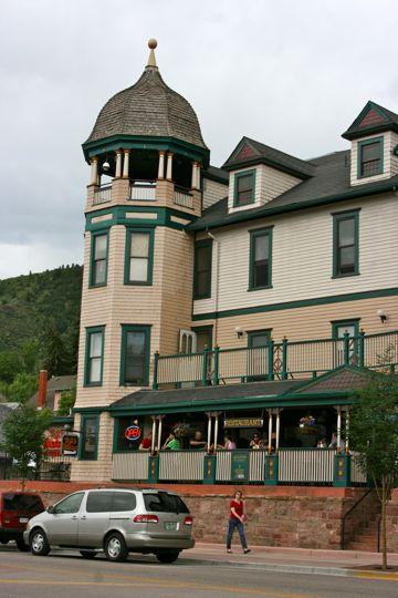 PJ's Bistro in Manitou Springs, Colorado
