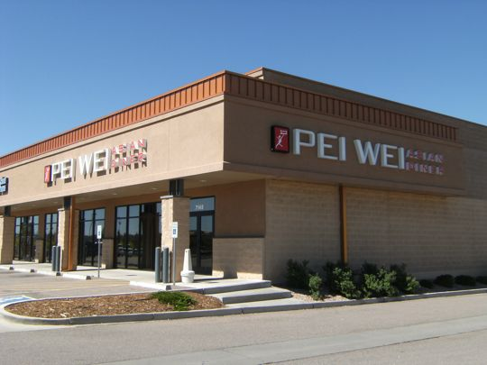 Pei Wei Asian Diner in Colorado Springs, Colorado