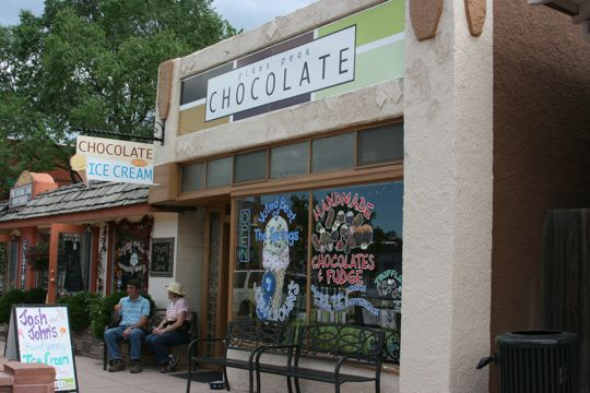 Pike's Peak Chocolate in Manitou Springs, Colorado