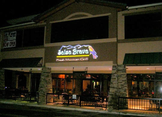 Salsa Brava Fresh Mexican Grill in Colorado Springs, Colorado