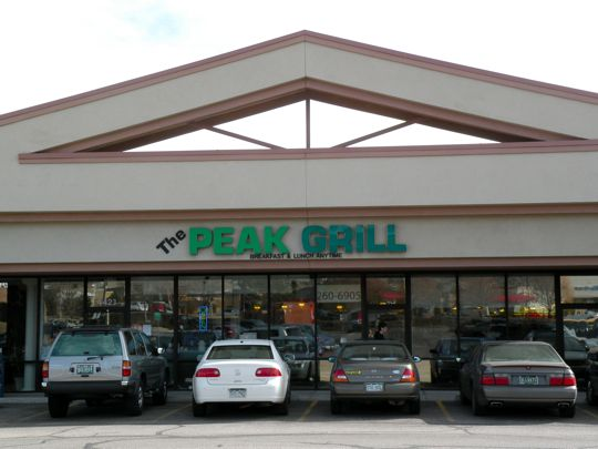 Peak Grill in Colorado Springs, Colorado