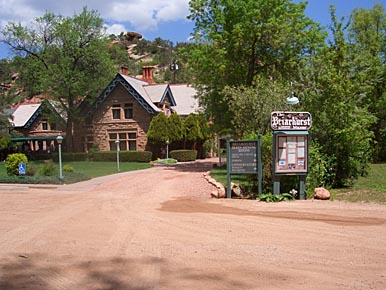 The Briarhurst Manor in Manitou Springs, Colorado