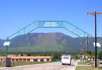 Historic Monument Colorado gateway