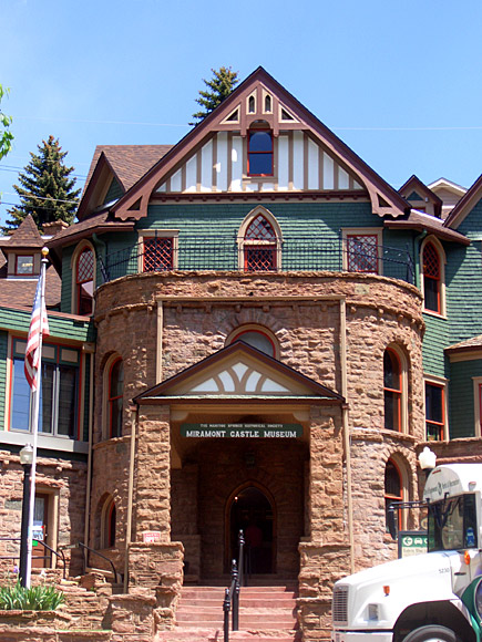 Miramont Castle Museum in Manitou Springs, Colorado