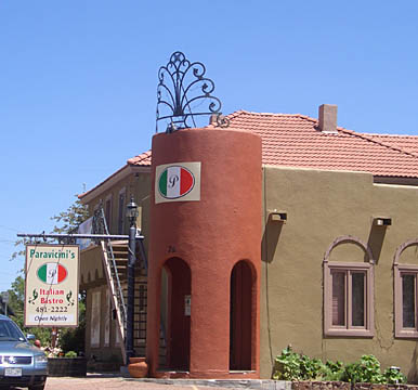 Paravicini's Italian Bistro in Monument, Colorado