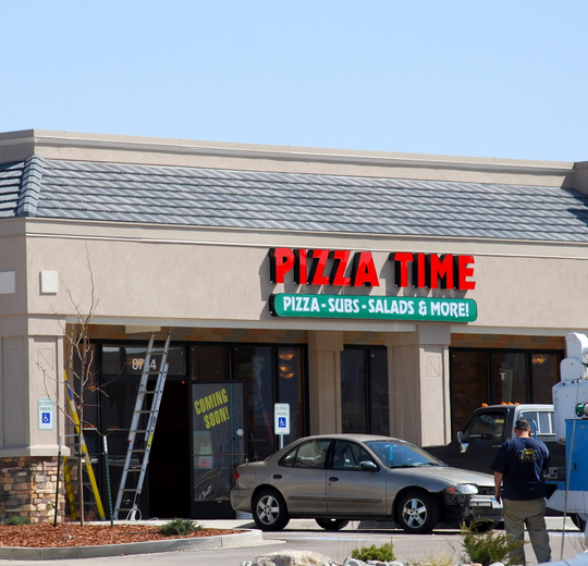 Pizza Time in Colorado Springs, Colorado