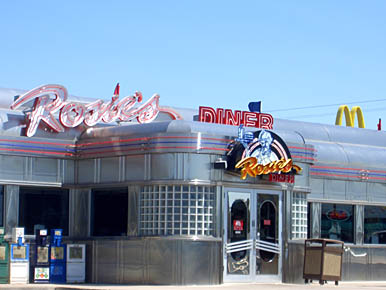 Rosie's Diner in Monument, Colorado