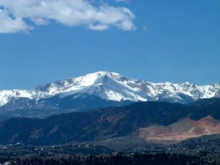 Pike's Peak-Pike's Peak in Colorado Springs, Colorado (medium sized photo)